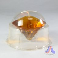 Crystal Candle - 1 Pc. Diamond Shape Big