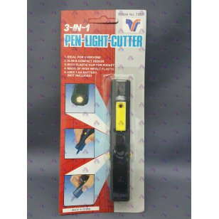 3 IN 1 PENLIGHT CUTTER