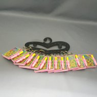 Smile Notebook w/ Chain (12/Hanger)