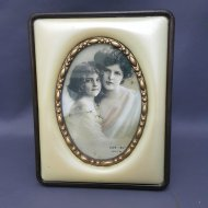 Pearl Photo Frame 3.5 X 5 Round