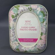 PADDED FABRIC PHOTO FRAME 5R
