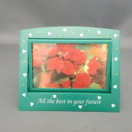 DOUBLE SWIVEL PHOTO FRAME