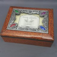Photo Frame w/ Jewelry Box