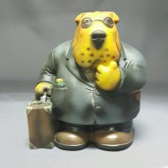Pet Street Coin Bank Wrinkles