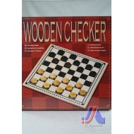 Wooden Checker